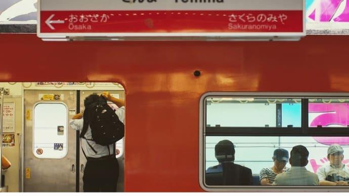 2012年夏 ・ JR天満駅