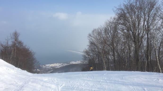北口とスキーに行きました。