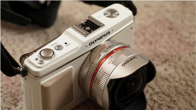 フィッシュアイ SAMYANG  7.5mm F3.5購入