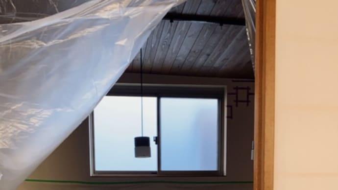 ハルガレージ グレードアップ⑤ 火棚取付工事