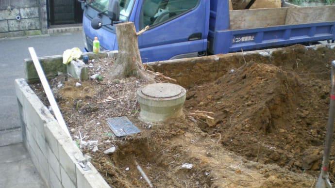 汚水管の移設・・・・・千葉市