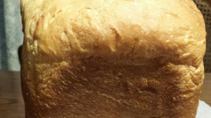 久々HBで食パンを焼いた。