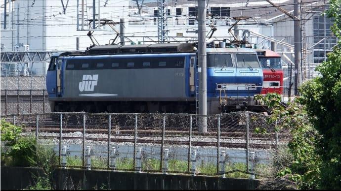 大阪貨物ターミナル駅を覗く
