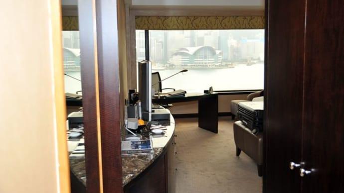 インターコンチネンタル香港*15階からの眺め