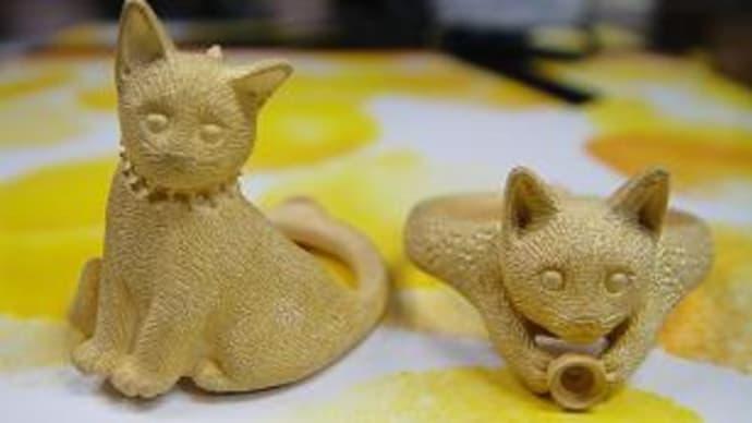 猫リング製作過程②