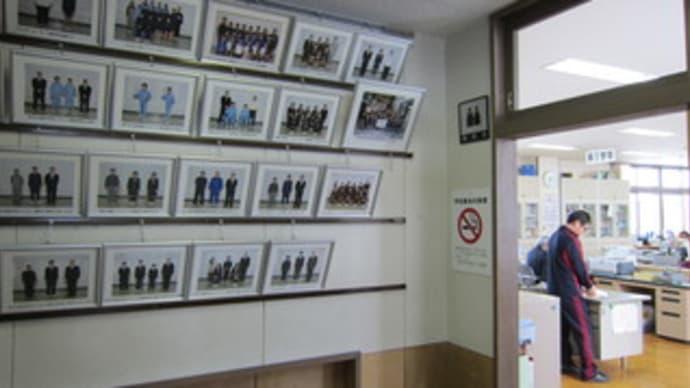 職員室前廊下