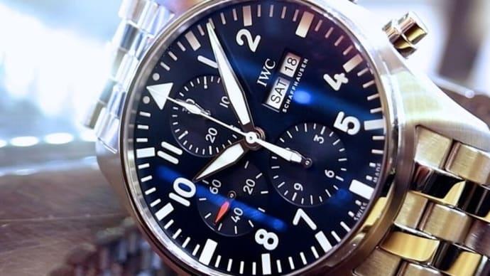 日本人が一番好きな10選のIWC パイロットウォッチPILOT WATCH 腕時計