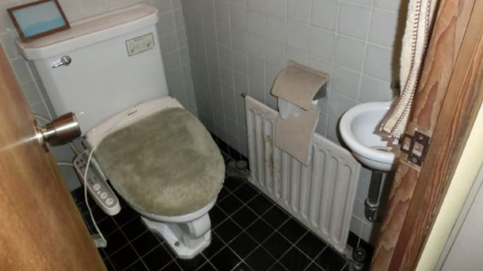 トイレの床下で水漏れ・・・千葉市