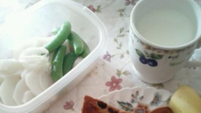 遅めの朝食です~♪