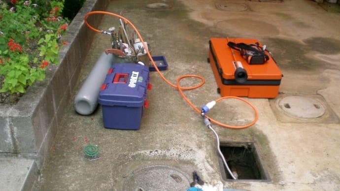 混合トレーサーガス式漏水探索機バリオテック460