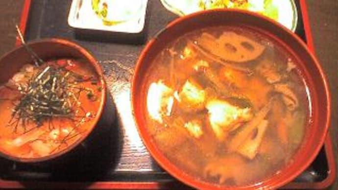 ☆お雑煮の昼食