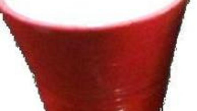 手作り陶器で一杯