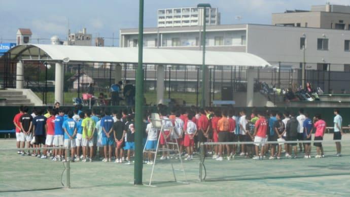 高校ソフトテニス秋季地区大会(支部戦)個人戦
