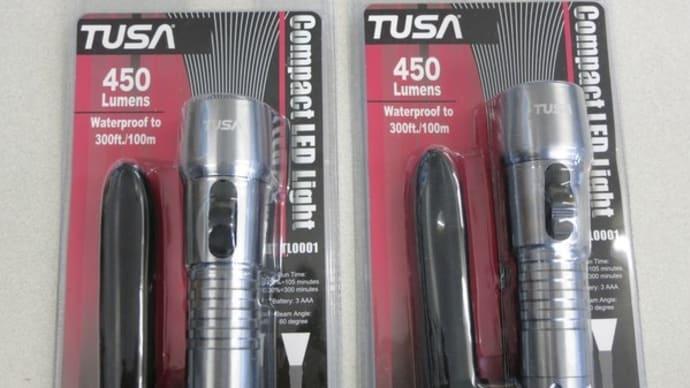 TUSAのコンパクトLEDライト(ワイド)TL0001特価販売中(在庫2台)