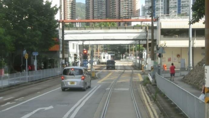 2017年9月香港の旅(その25・新界LRT乗り歩きで元朗に)