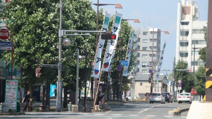 暑さよりラグビーの熊谷市