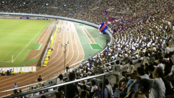 FC東京×リガ・デ・キト@国立【スルガ】