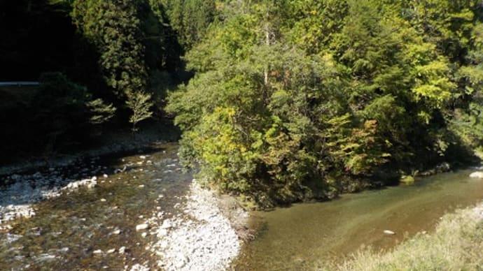 豊川の源流を目指す 設楽ダム建設予定地を走る