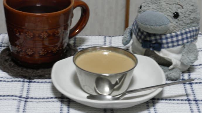 紅茶のプリン作りました。