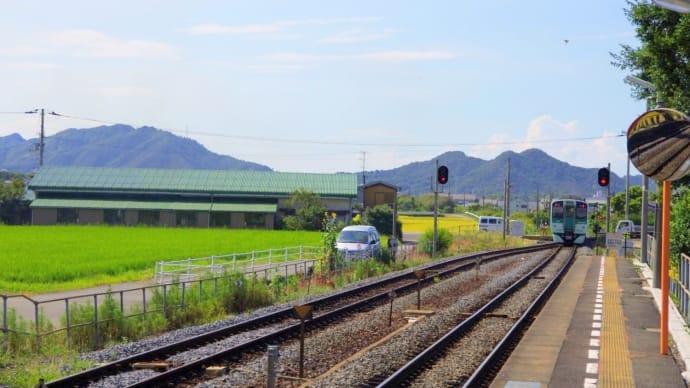 JR高徳線  ・ 讃岐相生駅