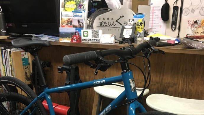 試乗車お借りしてます! JAMIS CODA NEO ディスククロスバイク