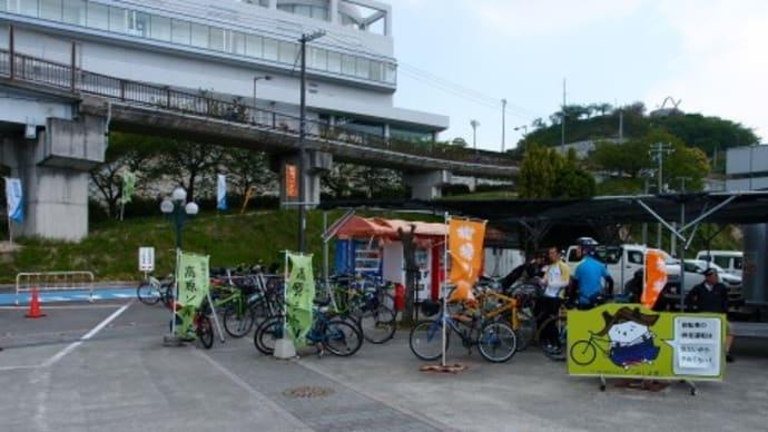 多々羅大橋を渡って井口島を一周して戻る自転車コースは爽快 (2017/4/29-2)