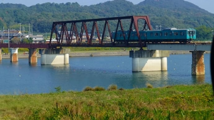 国包(くにかね)の鉄橋