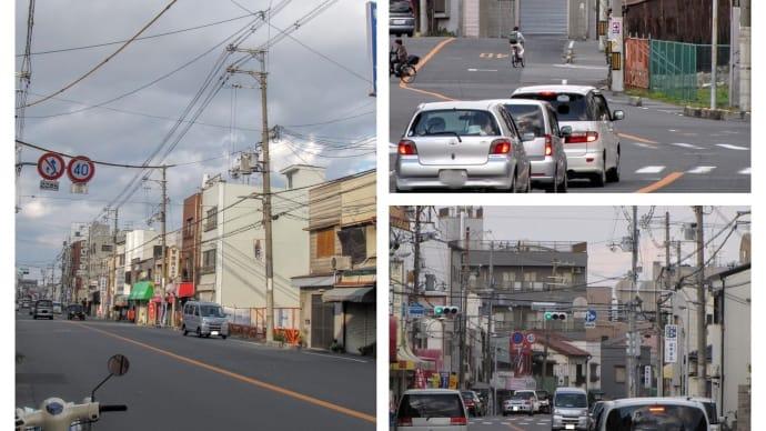 大阪市生野区 ・ 疎開道路付近