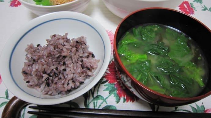 カレースープで 夕食&ランチ