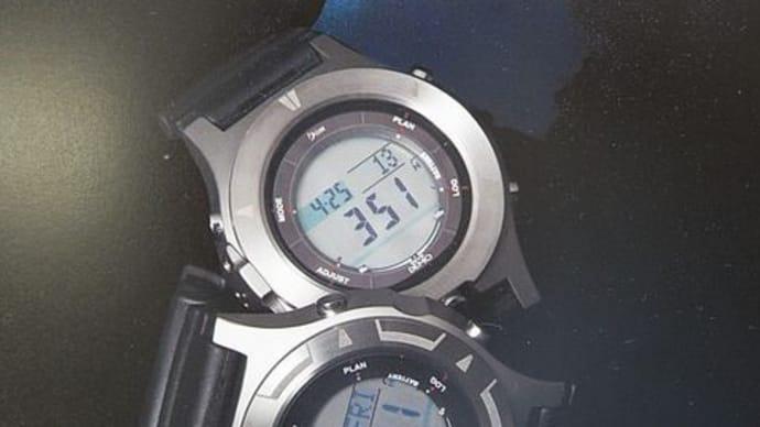 ビーイズム ダイブデモ SOLIS チタニウムダイブコンピュータ
