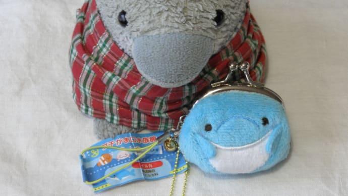 イルカのがま口買いました。