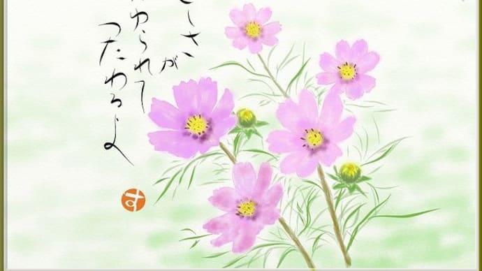 PCアート(秋桜)