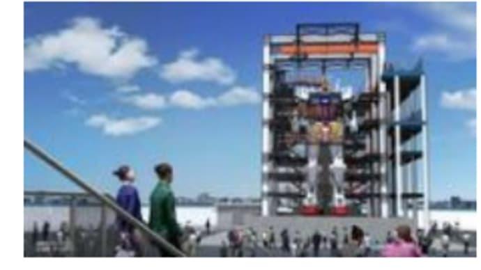 ガンダム:動く実物大ガンダムが横浜で10月1日公開