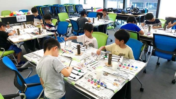 まちラボ 夏の学校「カラフル3D昆虫標本」