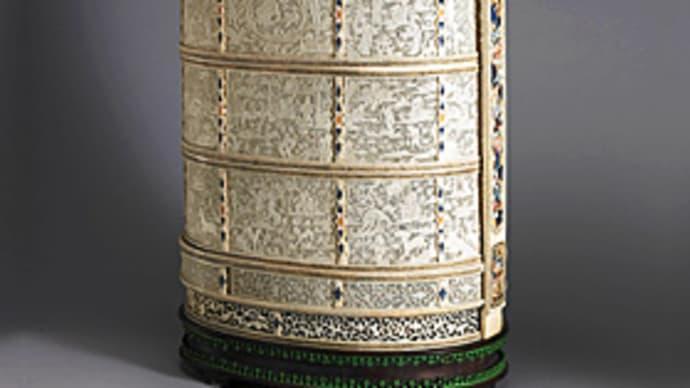 台湾行 〈故宮 象牙鏤彫提食盒〉