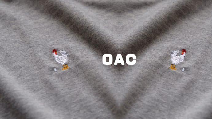 マニアむけTシャツマニア「OAC」さんを召喚しました