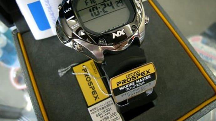 seikoセイコー マリーンマスター プロスペックスSBDK001ダイブコンピュータ