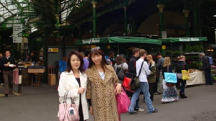 ロンドン滞在記☆Part.3 大英博物館&マーケット&まだ~むのクロックムッシュ