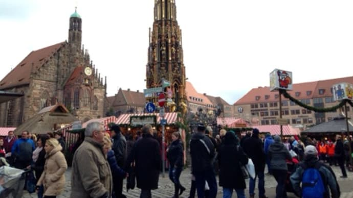クリスマスマーケット@ニュールンベルク
