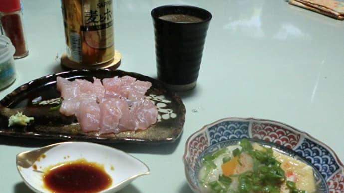 今日の晩ごはんはちゃんこ鍋と刺身で一杯📷街角ぶらり旅01-21
