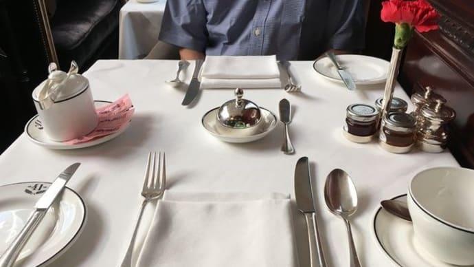 ホテル41ロンドン*エグゼクティブラウンジ「朝食タイム」