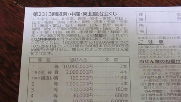 宝くじ・totoBIGの中額狙い当選確率を考える(その1)