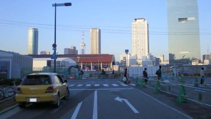 大阪駅の北側
