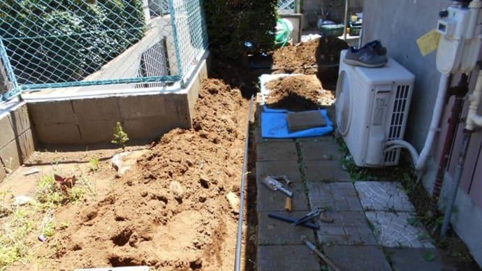 水道管の配管替え工事・・・千葉市