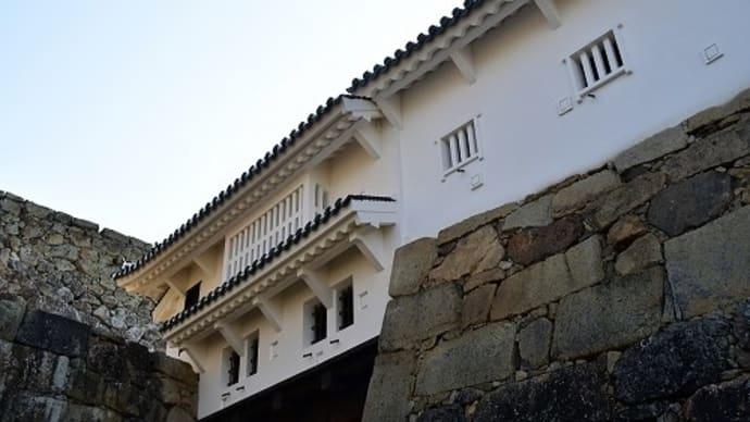 姫路城 「鏡石」