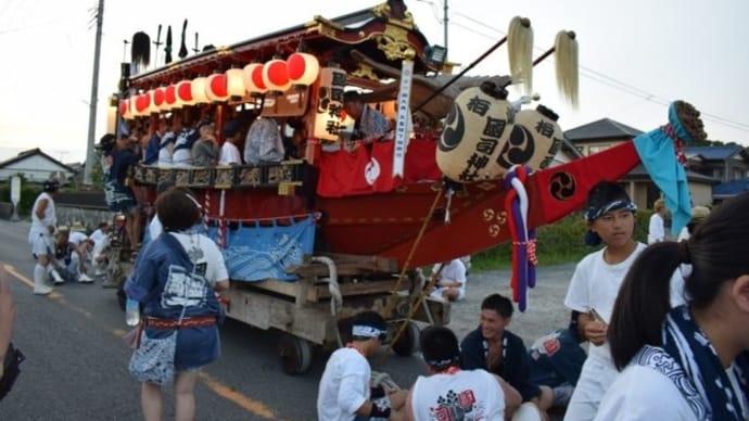 館山のまつり 國司神社のお舟 國司丸