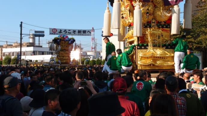 新居浜けんか祭りは名前どうり(2015/10/17-2)