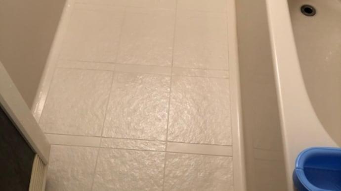 浴室排水管詰まり解消工事