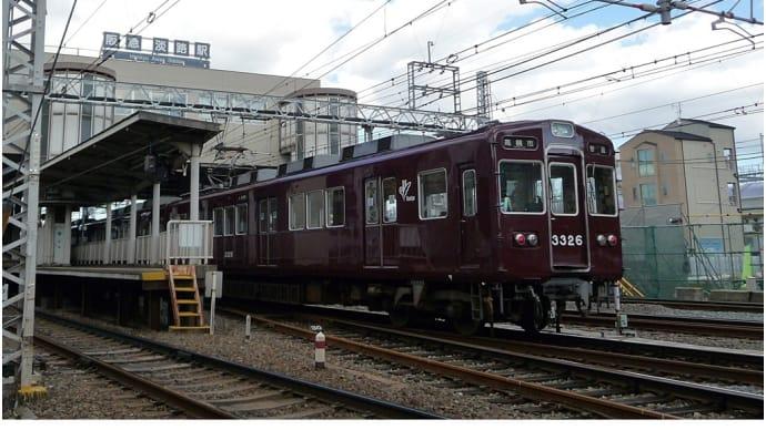 2014.11.3阪急・淡路駅付近