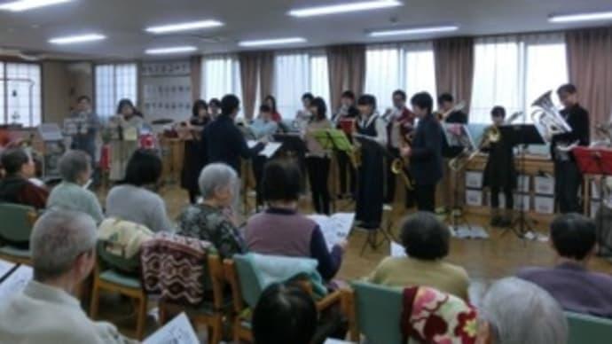ツクイ茨島&土崎デイサービスセンター訪問演奏《2018・冬》写真